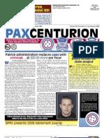 Pax Centurion - July/August 2009