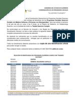 PADRÓN GUERRERO CUMPLE REGIÓN CENTRO, MUNICIPIO GENERAL HELIODORO CASTILLO
