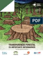 Informe de Transparencia Forestal 2011