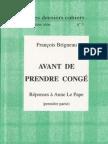 28528557 Avant de Prendre Conge 1 Francois Brigneau 1998