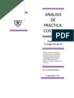 Analisis de Practica de Costos IV