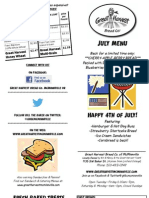 McMinnville July 12 Menu Flier