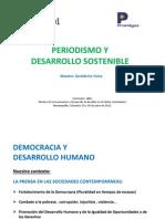 Periodismo y Desarrollo Sostenible