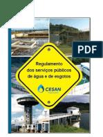 Regulamento Dos Serviços Públicos de ÁGua e de Esgotos - Cesan - Fevereiro 2010