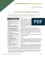How Cisco IT Built Virtual Desktop Infrastructure