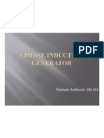 3 Phase Induction Generator