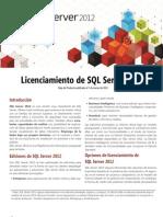 SQL Server 2012 Licensing Datasheet March 15-03-14