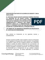 15-06-12 PA Irregularidades administrativas y Penales en la Administración Pública