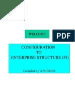 Enterprise Structure Config