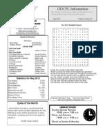 Adult Newsletter July 2012