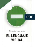 El Lenguaje Visual Maria Acaso