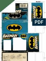 Boxzet BatMan - paper toy