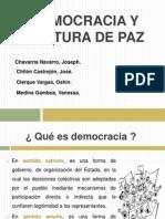 Democracia y Cultura de Paz