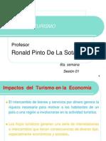 Impactos  del  Turismo en la  Economía y La ética