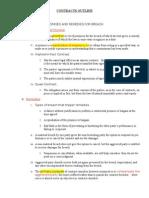 Contracts Outline (Regan 1)