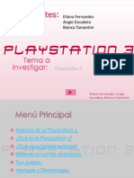 Presentación de Power Point  ( Playstation 3 )
