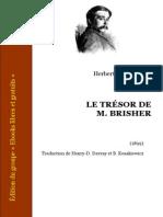 Wells, Herbert George - Le Tresor de Mr Brisher