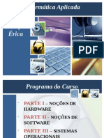 Slides de Informatica Aplicada a Contabilidade