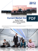 Boeing 2012 Current Market Outlook