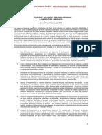 Propuesta de los pueblos y mujeres indígenas a candidatas y candidatos.