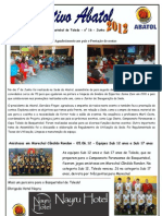 Informativo Abatol Junho - Basquete - Toledo PR