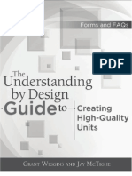 The Understanding by Design Guide for Creating High-Quality Units[1]