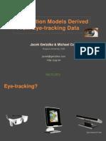 Toward Interaction Models Derived From Eye-tracking Data presented at Polish IA Summit 2012