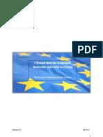 L'Union européenne dans les campagnes électorales nationales en Europe