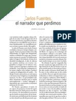 Carlos Fuentes, el narrador que perdimos