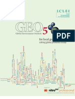Perspectivas del Medio Ambiente Mundial (GEO-5) para gobiernos locales