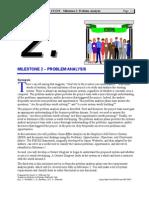 Case Study ESSS - Milestone 02 Problem Anaysis