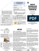 Church Newsletter - 08 July 2012