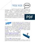 Historia de La Www (World Wide Web)