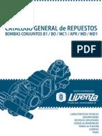 Bombas Conjuntos B1 BO MC1 APR MD MD1 Equipos Oleohidraulicos