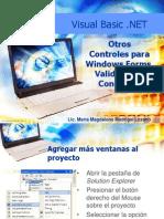 Unidad 2 Otros Controles Para Windows Forms