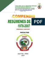Compendio Resumenes de Tesis UNAP. 1987-2007