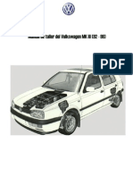 Manual de Taller VW Golf MK III
