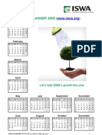 ISWA Calendar 2009