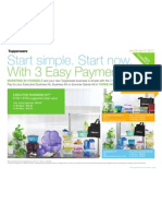 Start simple. Start now. With 3 Easy Payments!