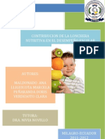 Nutricion y Rendimiento Escolar