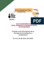 Guia de Matematicas Nivel Avanzado