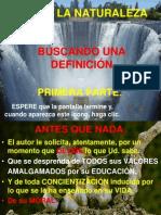 QUÉ ES LA NATURALEZA PRIMERA PARTE 2003