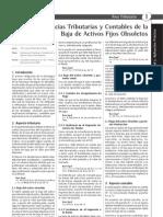 Casos practico-Baja de Activos Fijos-contabilidad