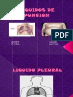 Liquido pleural y ascitico