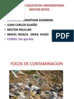 Focos de Contaminacion