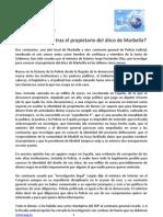 Sindicato Unificado de Policía - 3 de julio - Qué se esconde tras el propietario del ático de Marbella