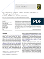 M.I. VIEIRA Et Al., 2009 (Dry Matter and Area Partitioning, Radiation Interception and Radiation-use Efficiency in Pepper)