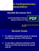 Clinical History of Cardiopulmonary Resuscita