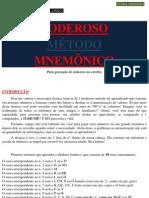 PODEROSO MÉTODO MNEMÔNICO!! www.iaulas.com.br