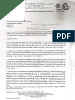 Carta de Cut a Dhydih